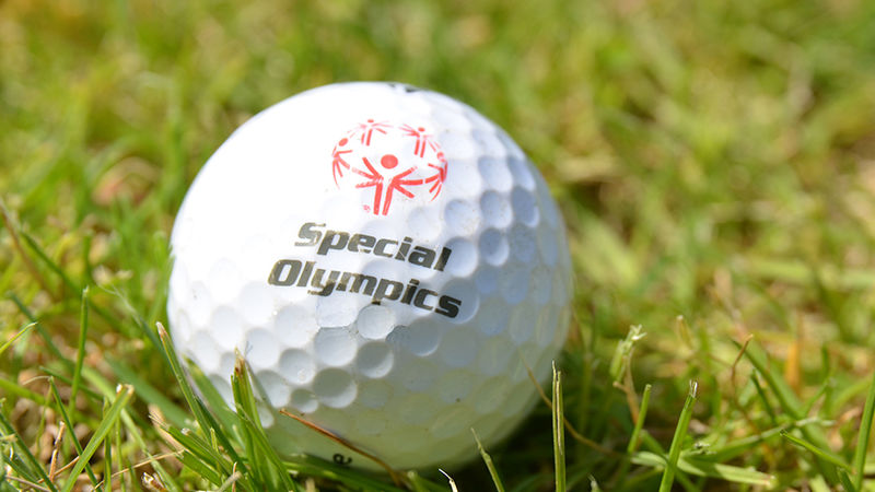 Special Olympics Golfball